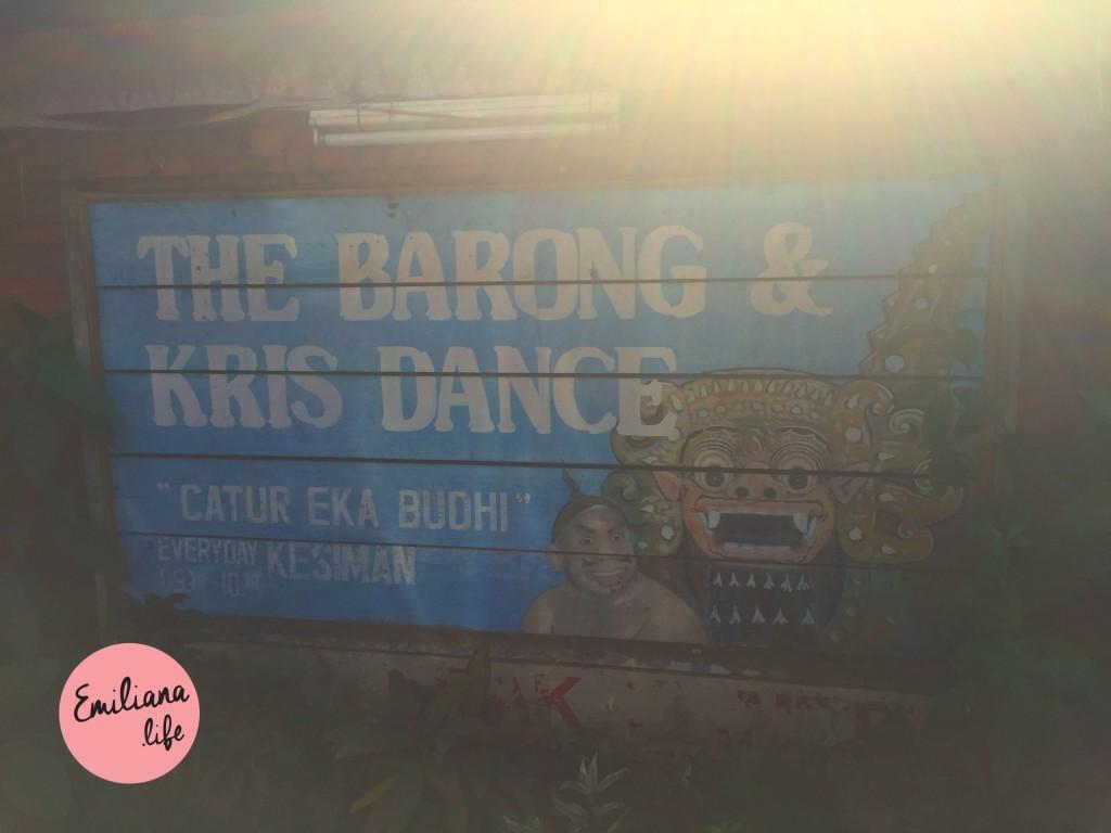 71 cartaz barong kris dance
