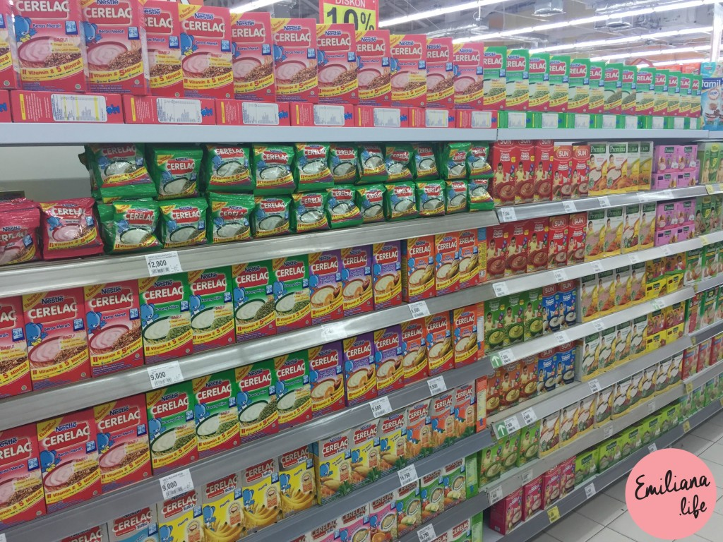 79 cereal nestle carrefour bali