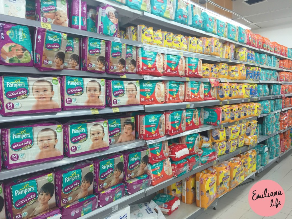 79 pampers carrefour bali