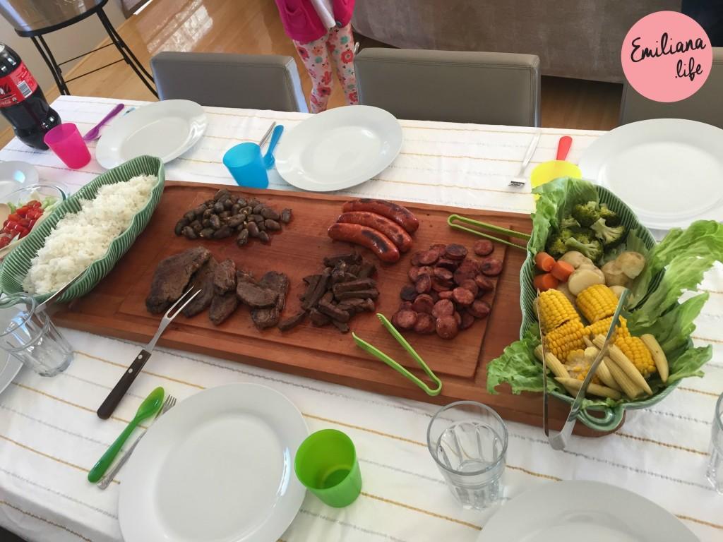 93 mesa almoco churrasco