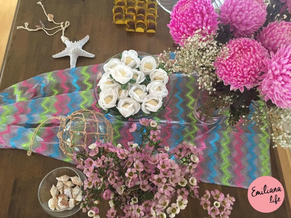 99 flores rosadas
