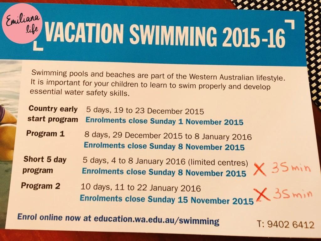 119 vacation swimm