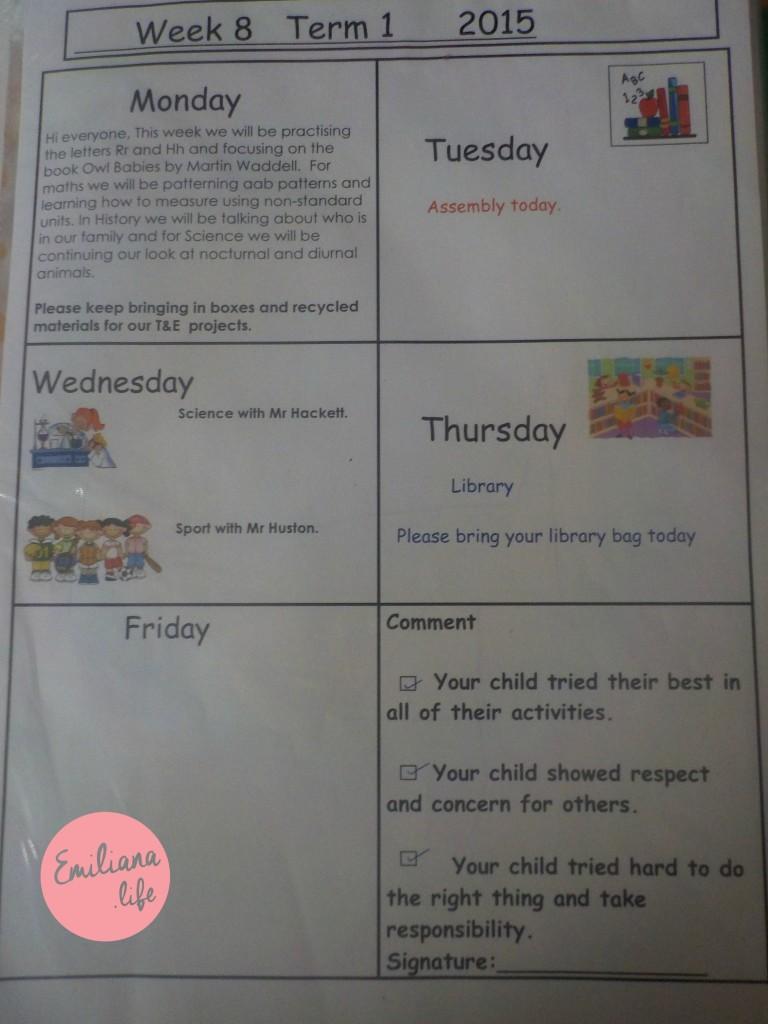 741 agenda escola australia