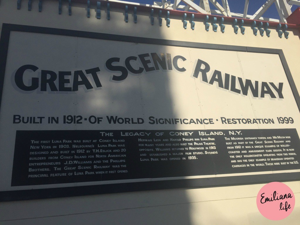 96 cartaz great scenic railway