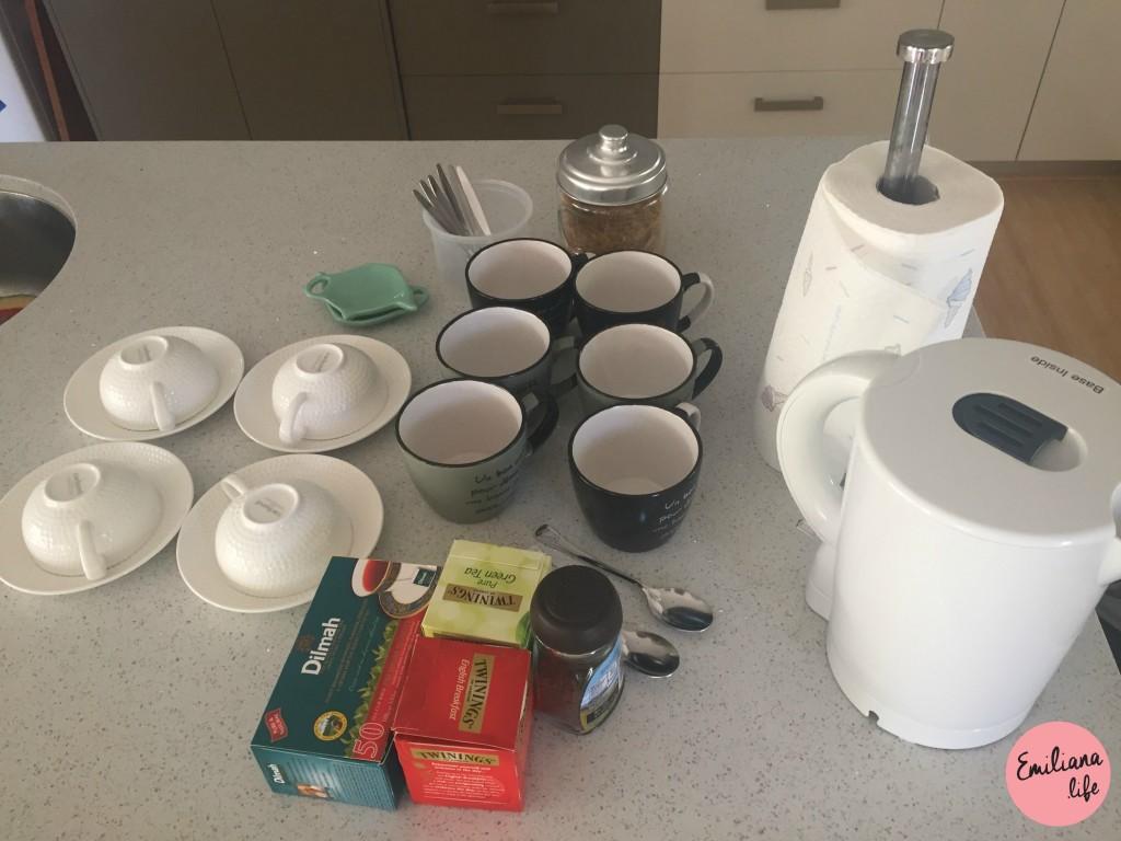 217 xícaras café chá