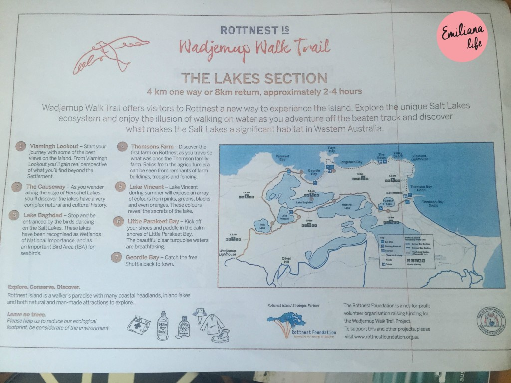 243 lake section rottnest