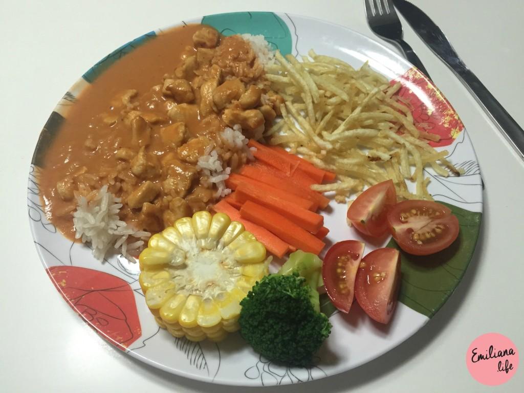 1 arroz strogonoff