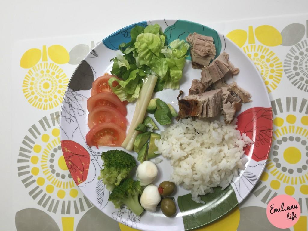 7 arroz carne porco